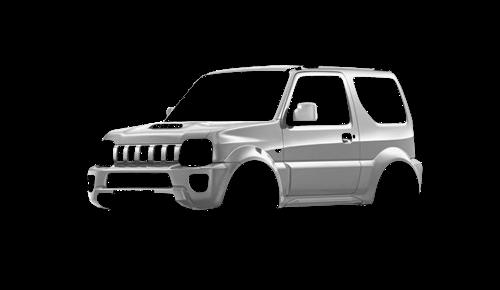 Цвета кузова Jimny